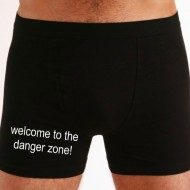 Moške boxer hlače welcome to the danger zone