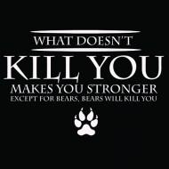 Smešna majica bears will kill you