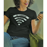 Smešna majica če v nebesih ni wifija