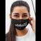Obrazna maska obvladam škarje