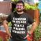 Smešna majica trebušček in jaz